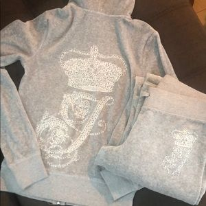 Matching juicy couture tracksuit set!